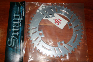 Snap Polished chainring 44T