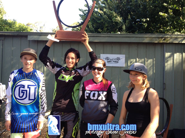 BSX2013 Open Women's finalists