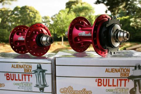 Alienation Bullitt BMX Cassette Hubs