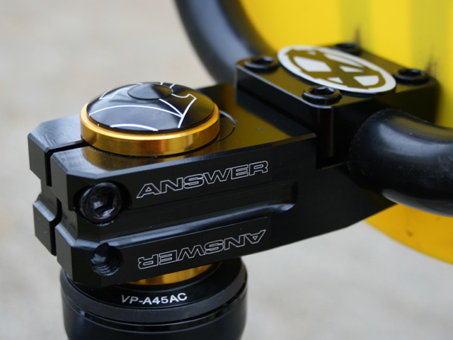 Answer Adjustable Stem
