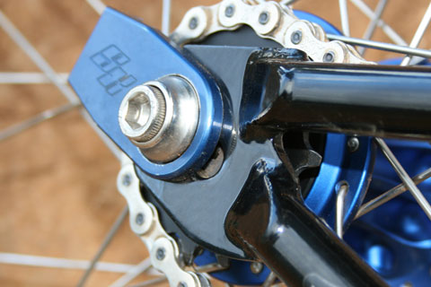 Supercross BMX Bolt frame
