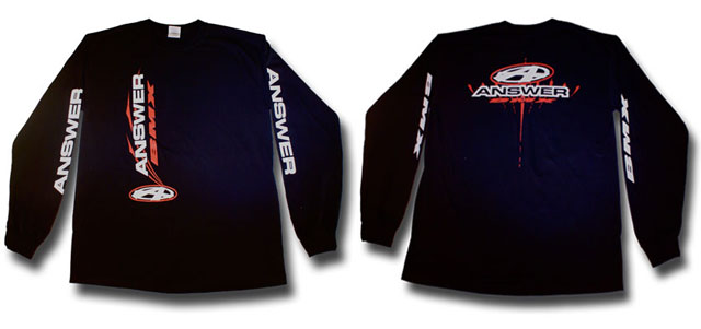 Answer BMX Long Sleeve t-shirt