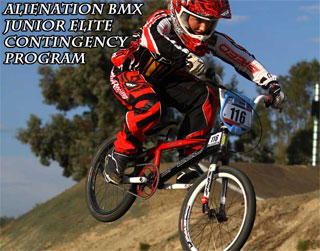 Alienation BMX Junior Elite Contingency Program