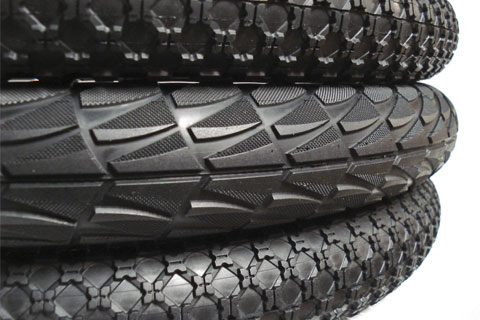 Alienation folding tires