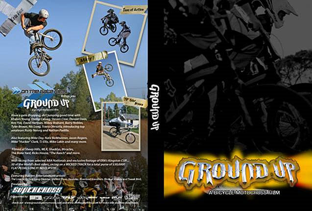 Ground Up BMX DVD