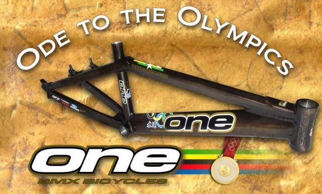 one_bicycles_gold_olympic_bmx_frame