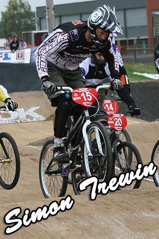 Speedline/Supercross Australia team rider Simon Trewin