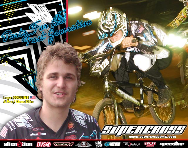 Logan Collins joins Supercross BMX