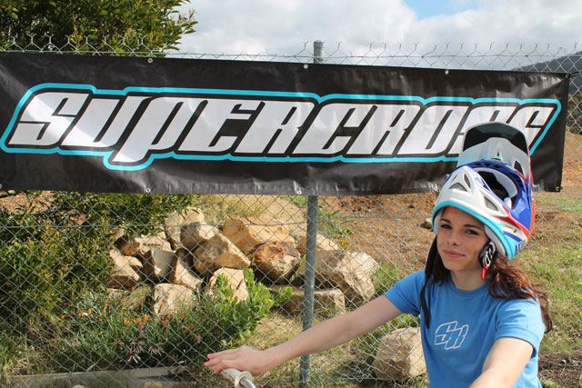 Esther Woodward joins the Supercross team