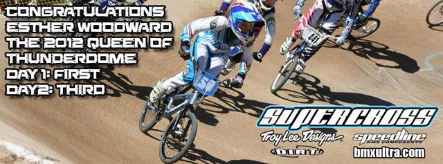 Supercross BMX Factory rider Esther Woodward