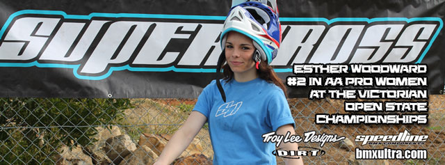 Supercross BMX Esther Woodward #2 Victoria