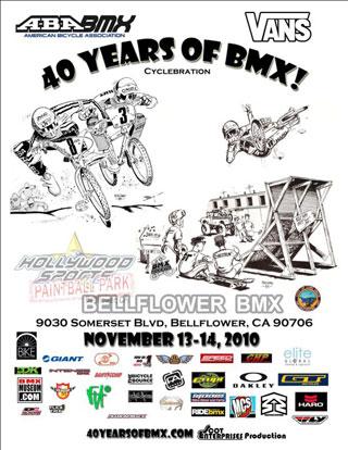 40 Years of BMX Celebrations