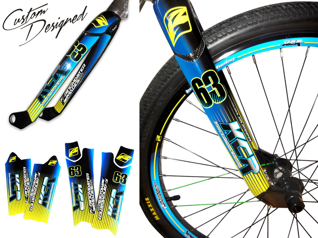 Decal Kits Product : Product spotlight ringmaster fork wrap decal kits