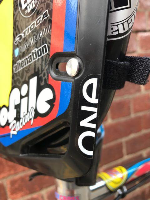 BMX Number Plate Mini Cruiser MAC COMPONENTS Racing Parts Accessories Equipment