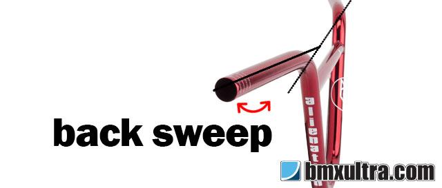BMX Handlebars Back Sweep